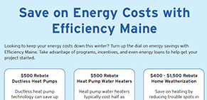 Bill Insert Callout - 2015 Oct - Efficiency Maine Rebates